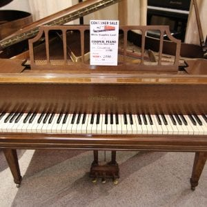 Chickering Walnut Baby Grand
