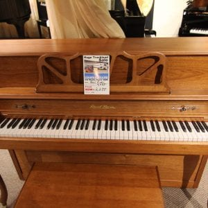 Like new  preowned piano