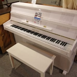Like new white piano