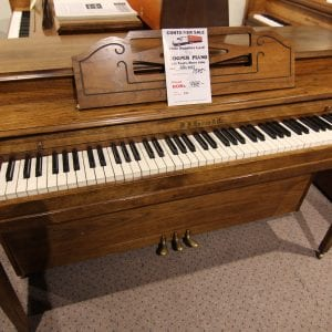 Clean used piano